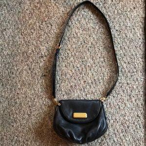 Marc by Marc Jacobs Black Leather Purse Strap Bag